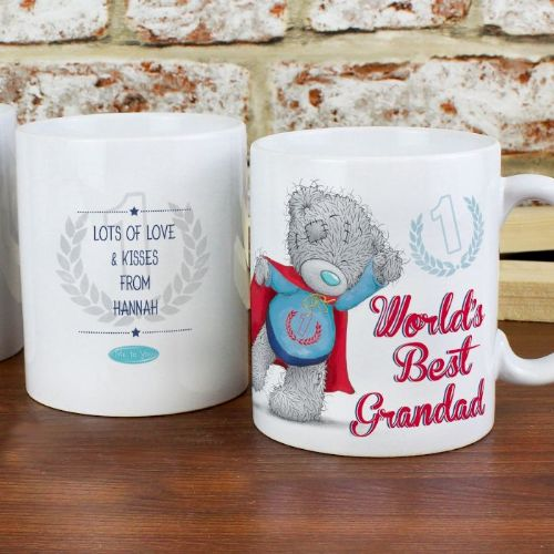 Personalised Me To You Super Dad Mug